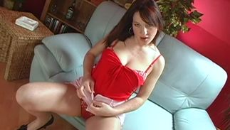 Naughty dark-haired Suzi with massive tits is in need of hardcore chick pot pounding