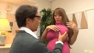 Inviting Hitomi Tanaka with handsome tits rides a cock like a pro