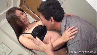 Spicy big boobed Yuna Shiinas sharing sausage in superb modes during xxx