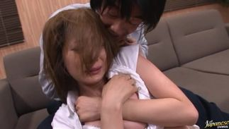 Busty Yuma Asami is marvelous and reaches a large and hard agonorgasmos
