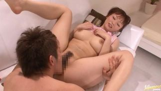 Kinky babe An Nanairo with big tits has been yearning for sex