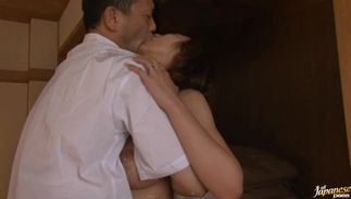 Exquisite big breasted Rei Aoki i loves fucking wildly with her stud