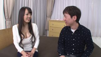 Admirable big boobed Hitomi Tanaka craves badly for a juicy chopper