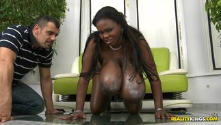 Bosomed latin girl Miosotis is aroused and ready to satisfies her fuckmate