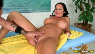 Perfection Dayton Rains with curvy tits is wanton and ready to ride a cock