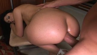 Alluring latin darling Luscious Lopez with big tits that loves hard stiff phallus