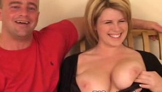 Staggering bosomed Lisa Sparxxx receives a hard banging for being such a tease
